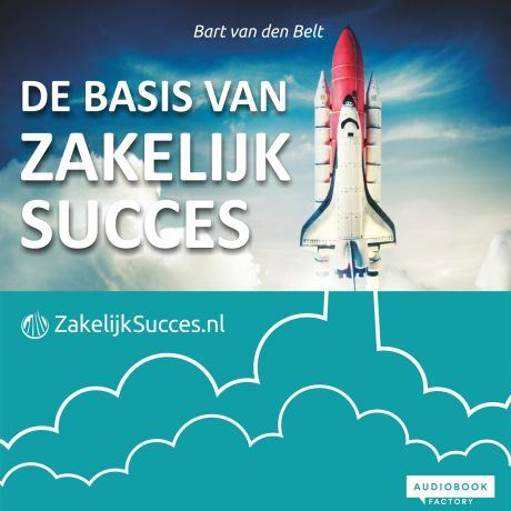 Cover de basis van zakelijk succes